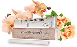 Creme De La Femme, Naturally End Vaginal Dryness: Created by