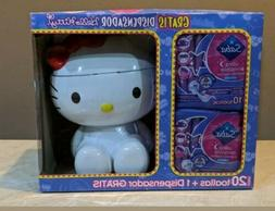 Femenine Hygienic Pads With Hello Kitty Figure Container Sto
