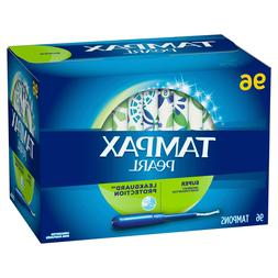 Tampax Pearl Unscented Tampons, Super